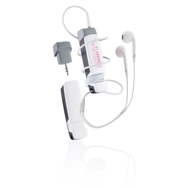 也可作桌面手机座和耳机绕线器使用
